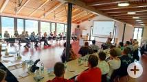 Die Vereinsvertreter bei der Herbstklausur im Dach der Vereine in Fischerbach