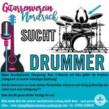 Gitarrenverein Nordrach - Drummer gesucht