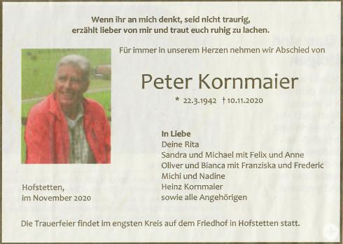 2020 Kornmaier Anzeige privat